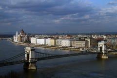 Mening van Boedapest Stock Afbeelding