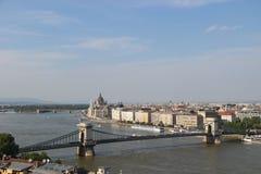 Mening van Boedapest Royalty-vrije Stock Foto's