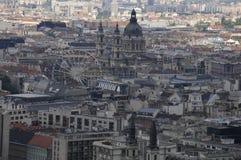 Mening van Boedapest de stad in stock foto's