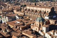 Mening van Bologna Royalty-vrije Stock Foto