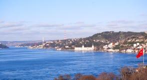 Mening van Bosphorus Royalty-vrije Stock Foto