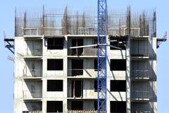 Mening van bouwwerf royalty-vrije stock afbeelding