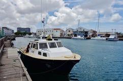 Mening van Bridgetown van de binnenstad, de hoofd en grootste stad in Barbados Royalty-vrije Stock Afbeelding