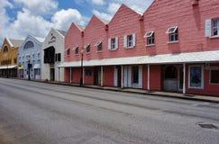 Mening van Bridgetown van de binnenstad, de hoofd en grootste stad in Barbados royalty-vrije stock afbeeldingen