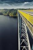 Mening van brug Royalty-vrije Stock Afbeeldingen