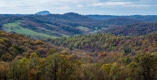 Mening van Buffelsberg, Virginia, de V.S. stock foto
