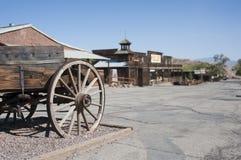 Mening van Calico, Californië, San Bernardino County Royalty-vrije Stock Fotografie