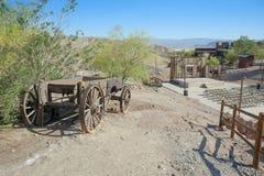 Mening van Calico, Californië, San Bernardino County Stock Afbeelding