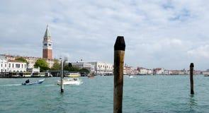 Mening van Campanile in Venetië royalty-vrije stock fotografie