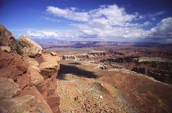 Mening van Canyonlands Stock Afbeelding