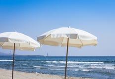 """Mening van Catanië, Sicilië, Italië †de """"van azzurro van strandlido royalty-vrije stock foto"""
