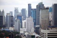 Mening van centraal Djakarta Stock Fotografie