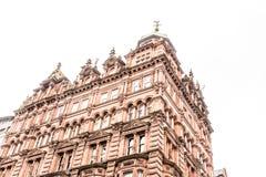Mening van Centraal Glasgow in Schotland Royalty-vrije Stock Foto