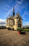 Mening van chapelle heilige-Hubert, Frankrijk royalty-vrije stock foto