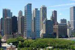 Mening van Chicago Stock Afbeelding