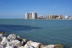 Mening van Clearwater-strand Royalty-vrije Stock Afbeeldingen