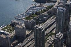 Mening van CN Toren Royalty-vrije Stock Foto's