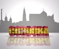 Mening van Cordoba royalty-vrije illustratie