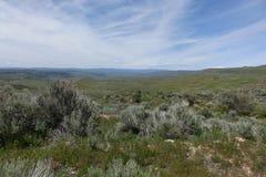 Mening van Crane Creek, Idaho royalty-vrije stock fotografie
