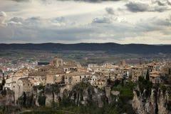 Mening van Cuenca, Spanje Stock Foto's