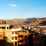 Mening van Cusco, Perú royalty-vrije stock fotografie