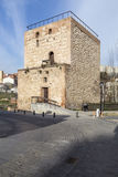 Mening van de Alamon-Toren in Guadalajara, Spanje Royalty-vrije Stock Foto