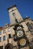 De astronomische klokketoren van Praag Royalty-vrije Stock Fotografie
