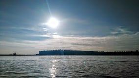 Mening van de Baai van Cardiff royalty-vrije stock afbeelding