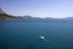 De Krim. Noviy Svet. De Zwarte Zee. Royalty-vrije Stock Foto's