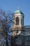 Mening van de Basiliek in Esztergom, Hongarije Royalty-vrije Stock Afbeeldingen