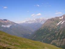 Mening van de belangrijkste rand van de Kaukasus Stock Foto's