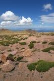 Mening van de Bergen van Colorado Royalty-vrije Stock Foto's