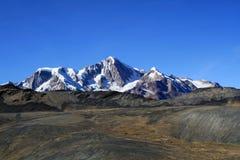 Mening van de Bergen van de Andes Royalty-vrije Stock Foto's