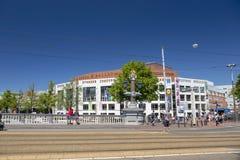 Mening van de Blauwe Brug aan het Opera en Ballettheater Royalty-vrije Stock Foto