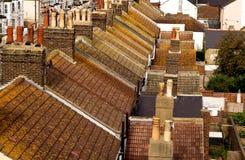 Mening van de bovenkanten van het Dak stock foto