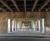 Mening van de brug Royalty-vrije Stock Afbeeldingen