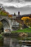 Mening van de brug van Stirling Stock Afbeelding