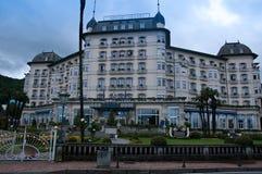 Mening van de buitenvoorgevel van Hotel Astoria Royalty-vrije Stock Foto's