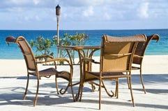 Mening van de Caraïbische Oceaan royalty-vrije stock foto