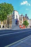Mening van de Cenotaaf in Whitehall royalty-vrije stock fotografie