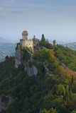Mening van de Cesta-Vesting en zijn toren Royalty-vrije Stock Afbeeldingen