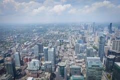 Mening van de CN Toren stock foto