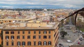 Mening van de daken van gebouwen in Rome