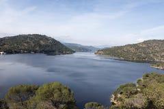 Mening van de dam van San Juan Stock Fotografie