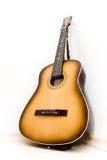 Mening van de de bodem de brede hoek van de gitaar stock foto