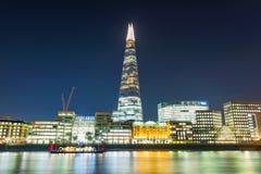Mening van de de Scherf en architectuur van Londen royalty-vrije stock foto's