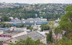 Mening van de donkere dag van Sebastopol Royalty-vrije Stock Afbeeldingen