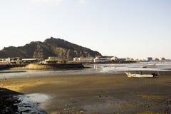 Mening van de Golf van Aden, Yemen Royalty-vrije Stock Foto's