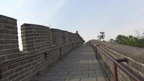 Mening van de Grote Muur van China Royalty-vrije Stock Foto