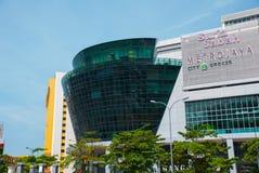 Mening van de grote winkel Kota Kinabalu, Sabah, Maleisië Stock Afbeelding